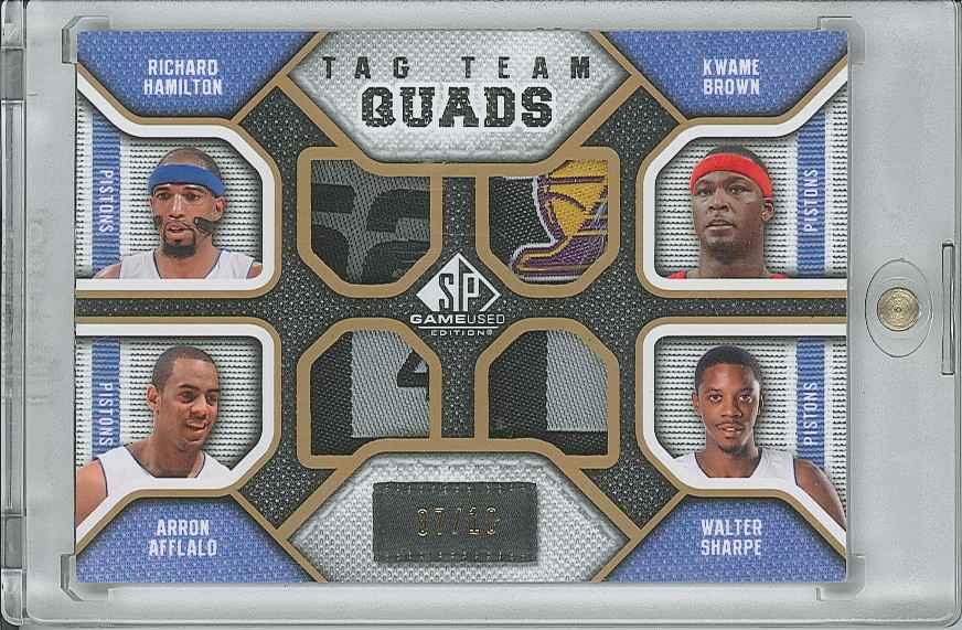 #TQDETR Walter Sharpe/ Arron Afflalo/ Kwame Brown/ Richard Hamilton