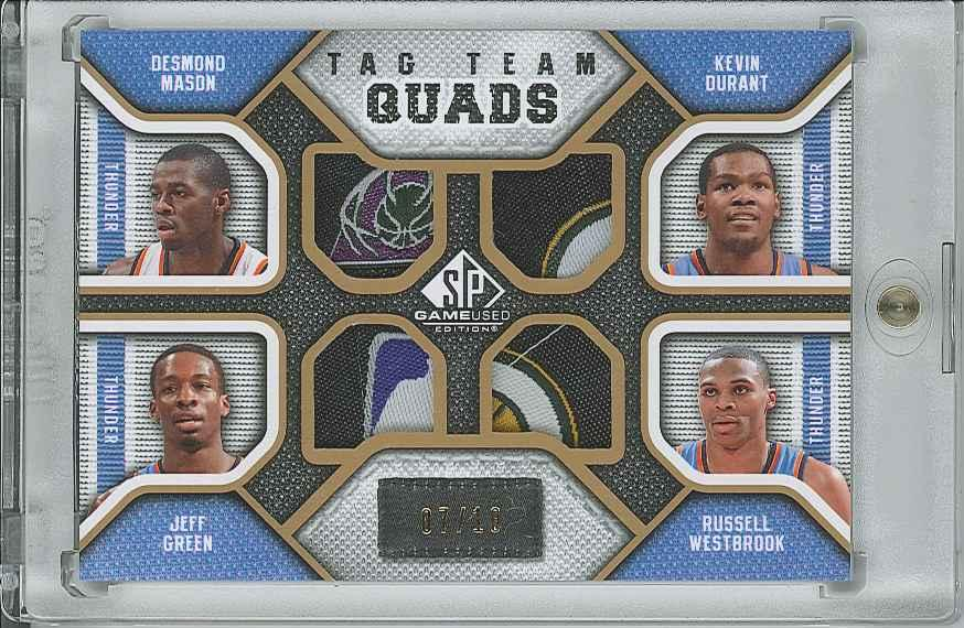#TQOKLA Russell Westbrook/Kevin Durant/Desmond Mason/Jeff Green