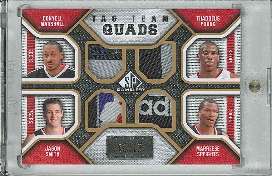 #TQPHIL Jason Smith/ Marreese Speights/ Thaddeus Young/ Donyell Marshall