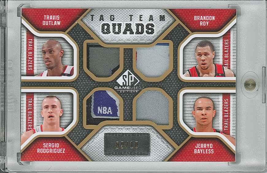 #TQPORT Brandon Roy/ Jerryd Bayless/ Travis Outlaw/ Sergio Rodriguez