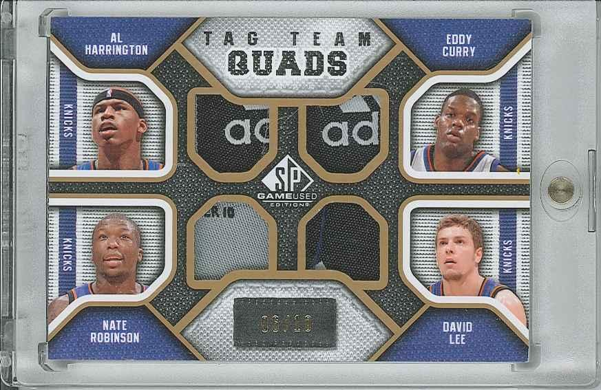 #TQNEWY Eddy Curry/ Nate Robinson/ David Lee/ Al Harrington