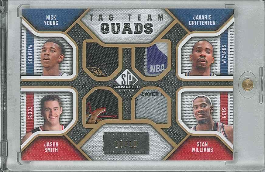 #TQNJJS Jason Smith/ Nick Young/ Javaris Crittenton/ Sean Williams
