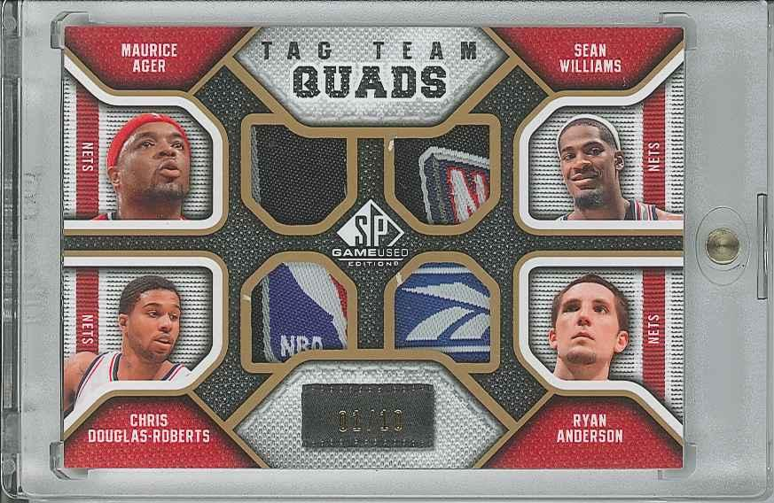 #TQNETS Maurice Ager/ Sean Williams/ Ryan Anderson/ Chris Douglas-Roberts