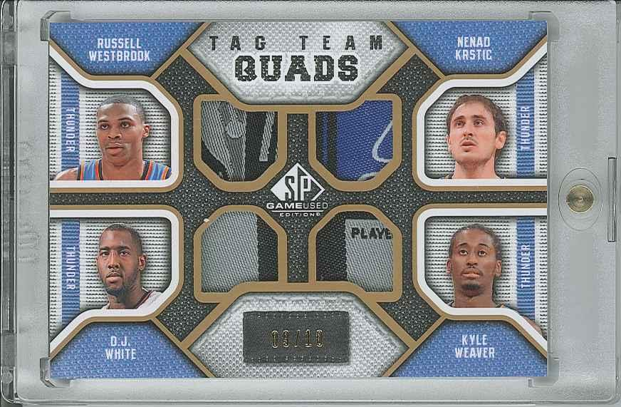 #TQOKCT Nenad Krstic/ Russell Westbrook/ D.J. White/ Kyle Weaver