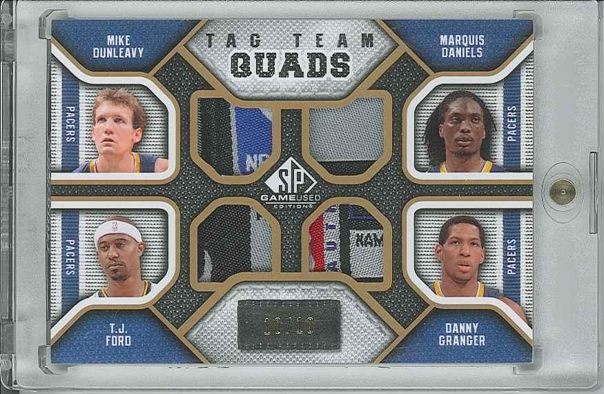 #TQPACE Danny Granger/ Mike Dunleavy/ Marquis Daniels/ T.J. Ford