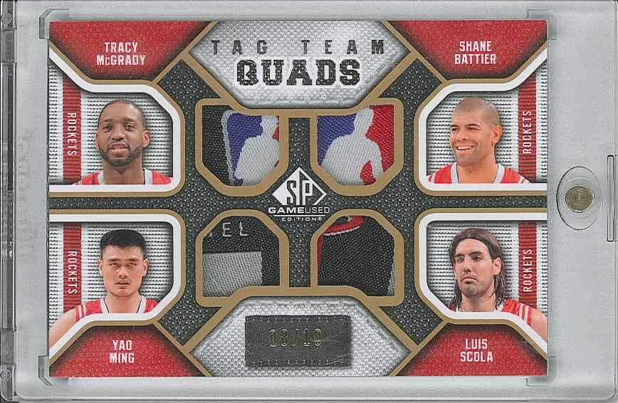 #TQROCK Luis Scola/ Tracy McGrady/ Shane Battier/ Yao Ming