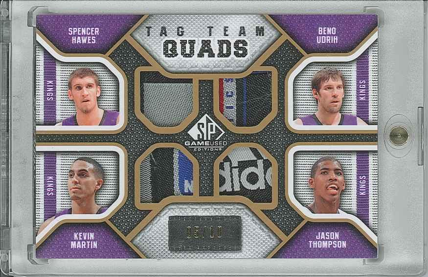 #TQSACR Jason Thompson/ Spencer Hawes/ Kevin Martin/ Beno Udrih
